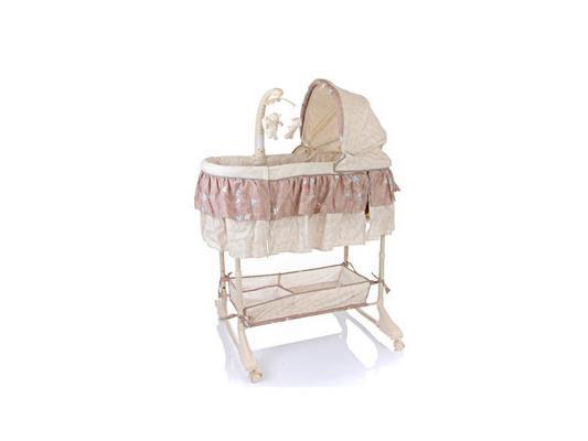 Кроватка-люлька 3-в-1 Jetem Sweet Dream Mobile (brown)