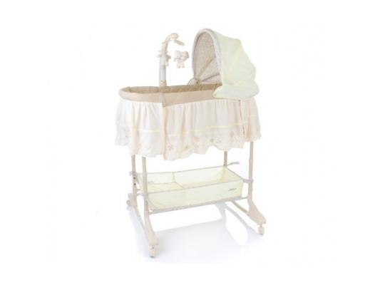 Кроватка-люлька 3-в-1 Jetem Sweet Dream Mobile (cream)