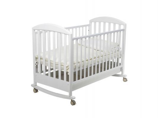 Кроватка-качалка Papaloni Джованни (белый)