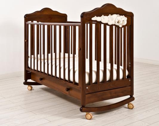 Кроватка-качалка Angela Bella ИзАБ ель 6983 (орех)