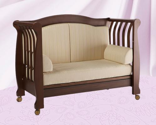 Кроватка-диван Feretti Grandeur (noce)