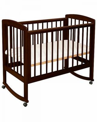 Кроватка-качалка Лель Ромашка АБ 16.0 (венге) кроватка качалка лель ромашка аб 16 0 белый