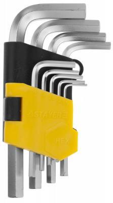 Набор ключей Stayer Master 9шт 2740-H9 набор ключей рожковых stayer техно 27041 h6