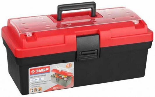 Ящик для инструмента Зубр Мастер 16 пластмассовый 38180-16 ящик для инструментов зубр 16 эксперт 38132 16