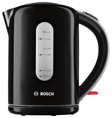 Чайник Bosch TWK7603 3000 Вт чёрный 1.7 л пластик bosch twk 6007v
