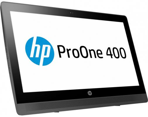 Моноблок 20 HP ProOne 400 G2 1600 x 900 Intel Core i5-6500T 4Gb 500Gb Intel HD Graphics 530 Windows 7 Professional + Windows 10 Professional черный серебристый T4R06EA моноблок hp proone 400 g2 v7q70es v7q70es