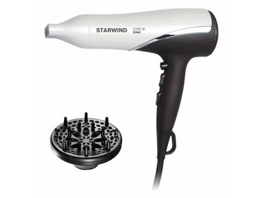 Фен StarWind SHP7817 белый коричневый
