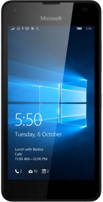 """Смартфон Microsoft Lumia 550 черный 4.7"""" 8 Гб Wi-Fi GPS A00026495"""