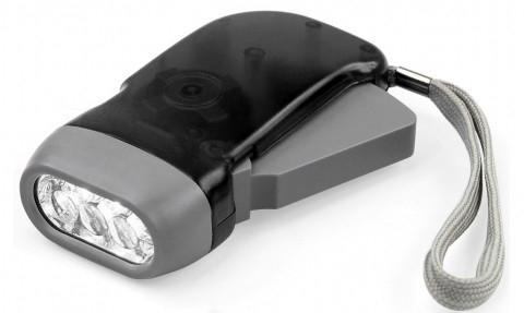 Фонарь Perfeo LT-008 светодиодный электродинамический черный