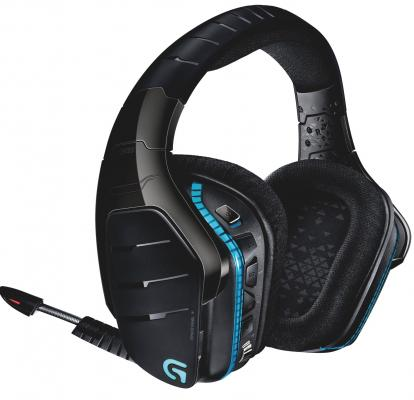 Гарнитура Logitech Wireless Headset Artemis Spectrum G933 черный 981-000599