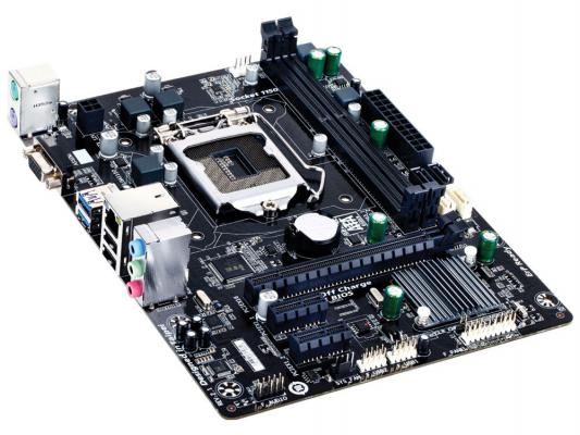 Мат. плата для ПК GigaByte GA-H81M-S1 V2.1 Socket 1150 H81 2xDDR3 1xPCI-E 16x 2xPCI-E 1x 2xSATA II 2xSATAIII mATX Retail