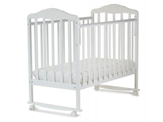 Кроватка-качалка СКВ Березка (белый/120111)