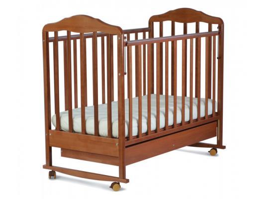 Кроватка-качалка СКВ Березка (орех/121117)