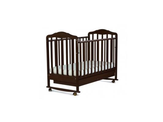 Кроватка-качалка СКВ Березка (венге/121118) кроватка ковчег скв 9 94003x
