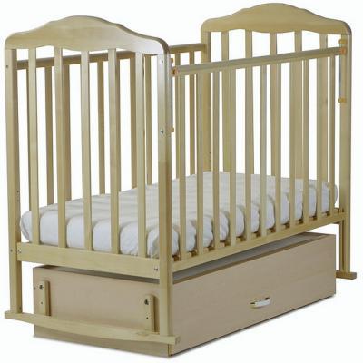 Кроватка-качалка с маятником СКВ Березка (береза/126005)