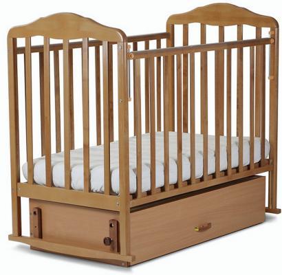 Кроватка-качалка с маятником СКВ Березка (бук/126006)