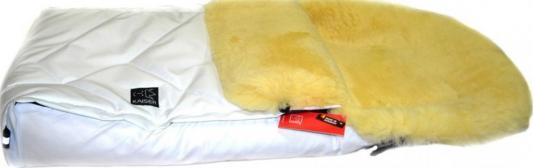 Конверт меховой Kaiser Dublas Limited Edition Glitzerweiss (белый с блестками) адаптер питания для ноутбука hp ac adapter slim 65w h6y82aa h6y82aa