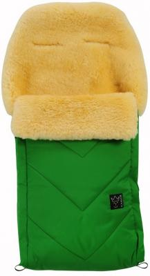 Конверт меховой Kaiser Dublas (зеленый) конверт меховой kaiser dublas mud