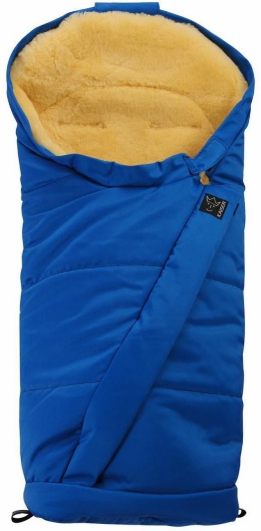 Конверт меховой Kaiser Coosy (blue) конверт детский kaiser конверт coosy зимний меховой синий