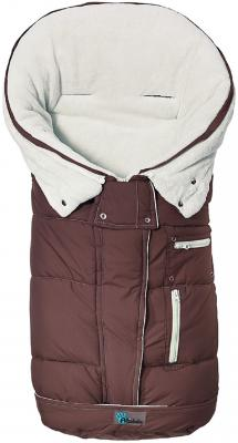 Флисовый конверт Altabebe Clima Guard (brown-whitewash)