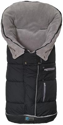 Флисовый конверт Altabebe Clima Guard (black-light grey)