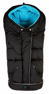 Флисовый конверт Altabebe Clima Guard (black-blue)