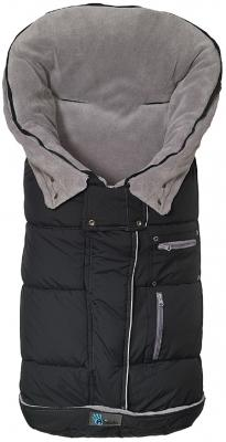 Флисовый конверт Altabebe Sympatex (black-light grey)