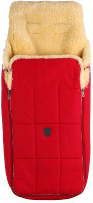 Конверт из овчины для новорожденных Christ Arosa (802/красный) конверт детский christ меховой конверт tula из овчины sky