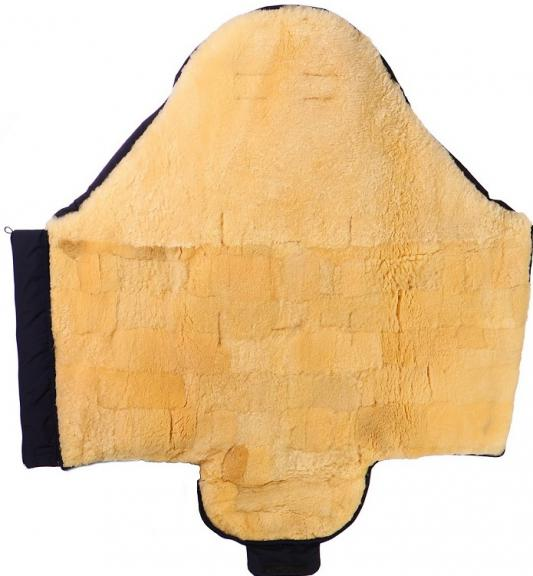 Конверт из овчины для новороженных Christ Tula (562/(голубой))