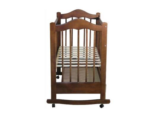 Кроватка-качалка Ведрус Кира 1 (вишня)