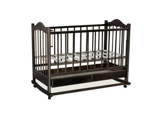 Кроватка-качалка Ведрус Кира 1 (орех) детские кроватки ведрусс кира 1 качалка