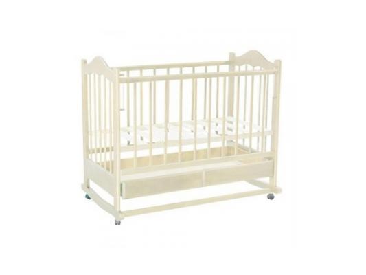 Кроватка-качалка Ведрус Кира 1 (белая) детские кроватки ведрусс кира 1 качалка