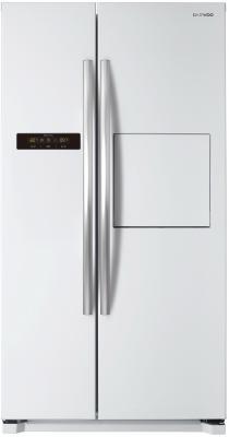 Холодильник Side by Side DAEWOO FRN-X22H5CW белый холодильник side by side daewoo electronics frnx 22 b4cw
