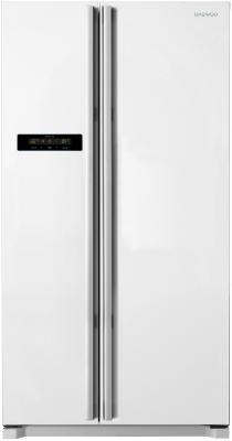 Холодильник Side by Side DAEWOO FRN-X22B4CW белый холодильник side by side samsung rs 552 nrua9m wt