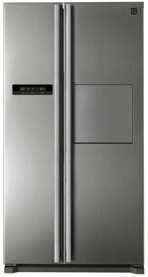 Холодильник DAEWOO FRN-X22H4CSI серебристый daewoo electronics frn x22f5cw