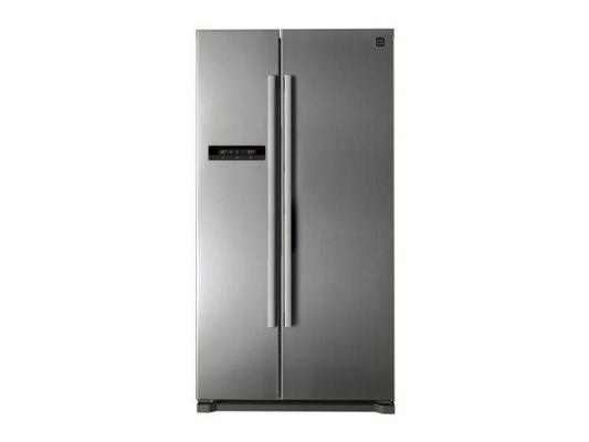 Холодильник DAEWOO FRN-X22B5CSI серебристый холодильник daewoo frn x22b4cw