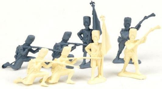 Набор фигурок Биплант Солдатики Армия 1812 года 8 шт 6.5 см 12022
