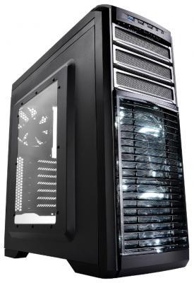 Корпус ATX Deepcool Kendomen Ti Без БП чёрный серебристый