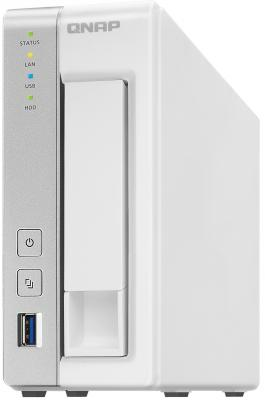 "Сетевое хранилище QNAP TS-131 1x3.5""/2.5"" HDD GbLAN 3xUSB eSATA"