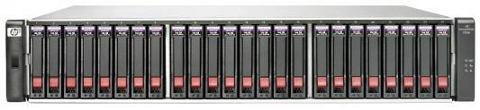 Дисковый массив HP MSA 1040 x24 2.5 SAS RAID 2x 2Prt FC DC SFF Strg K2Q89A