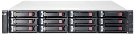 Дисковый массив HP MSA 1040 x12 3.5 SAS RAID 2x 2Prt FC DC LFF Strg K2Q90A