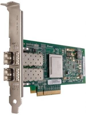 цена на Адаптер Dell QLogic 2562 Dual Port 8Gb Fibre Channel HBA PCI-E X8 -Full Profile kit 406-BBEK