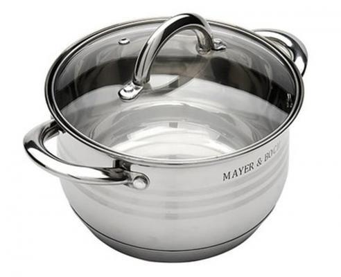 Кастрюля Mayer&Boch 24029-МВ 2 л 16 см mayer boch мармит керам 2 свечи 2 3л розы мв