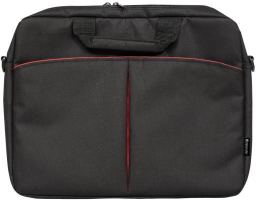 Сумка для ноутбука 16 Defender Iota полиэстер черный 26007 defender lota 15 16 черная ткань 26007