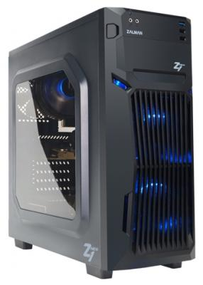Корпус ATX Zalman Z1 NEO Без БП чёрный корпус atx zalman r1 без бп чёрный