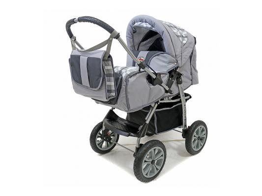 Фото - Коляска прогулочная Teddy BartPlast Kacper LUX PC (серый-графит/10) коляска прогулочная everflo safari grey e 230 luxe