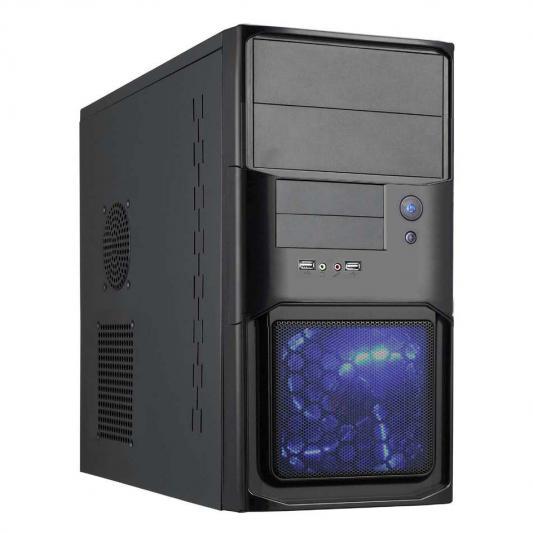 Корпус microATX MAXcase PN525 Без БП чёрный