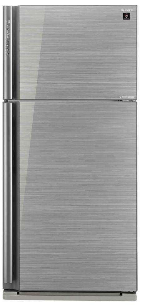 Холодильник Sharp SJXP59PGSL серебристый холодильник sharp sjxe55pmsl