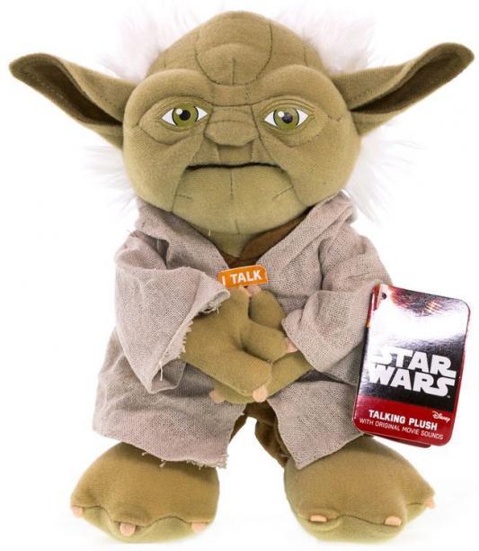 Мягкая игрушка Star Wars Йода плюшевый со звуком от 3 лет SW02367