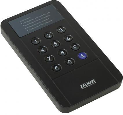 """Внешний контейнер для HDD 2.5"""" SATA ZALMAN ZM-SHE350 USB3.0 черный"""